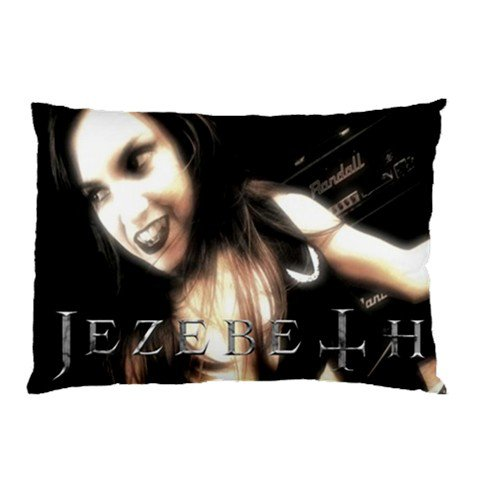 Jezebeth Two Sided Pillowcase