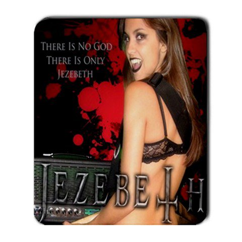 Jezebeth Large Mousepad Red