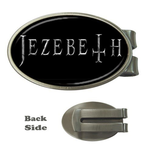 Jezebeth Oval Money Clip