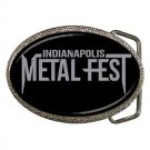 Indianapolis Metal Fest Belt Buckle