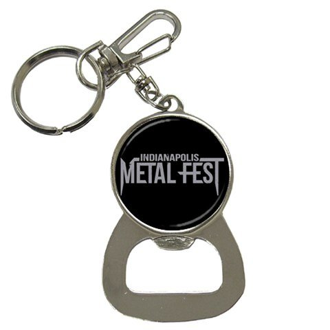 Indianapolis Metal Fest Bottle Opener Key Chain