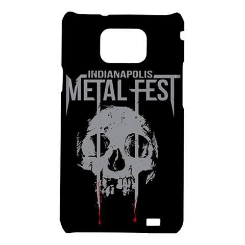 Indianapolis Metal Fest Samsung Galaxy S II Case Black