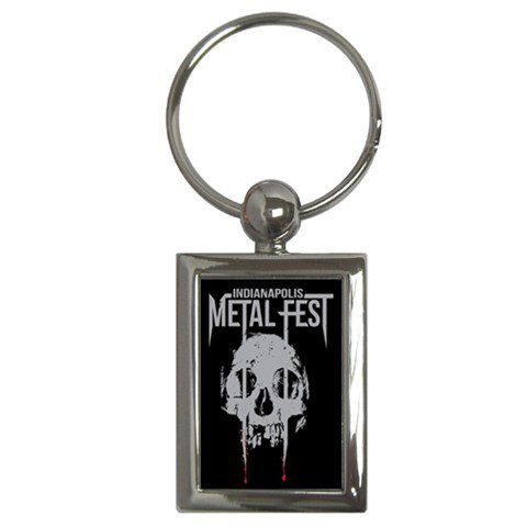Indianapolis Metal Fest Key Chain