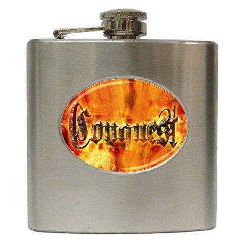 Conquest Hip Flask 6 oz