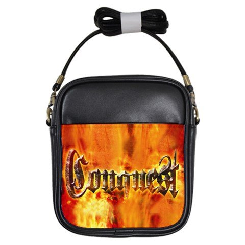 Conquest Leather Sling Bag