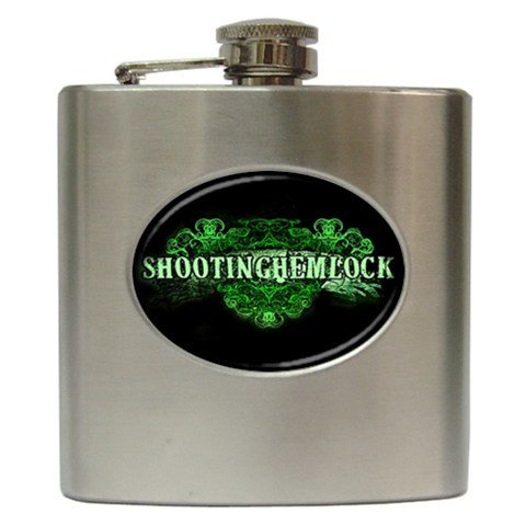 Shooting Hemlock Hip Flask 6 oz