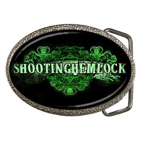 Shooting Hemlock Belt Buckle
