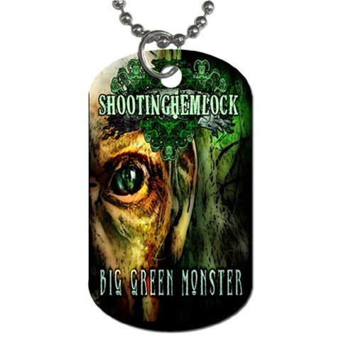 Shooting Hemlock 2 Sided Dog Tag and Chain