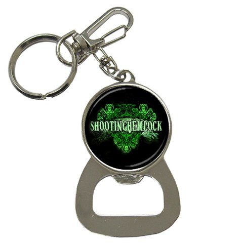 Shooting Hemlock Bottle Opener Key Chain