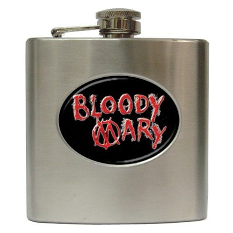 Bloody Mary Hip Flask 6 oz