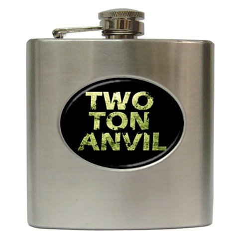 Two Ton Anvil Hip Flask 6 oz