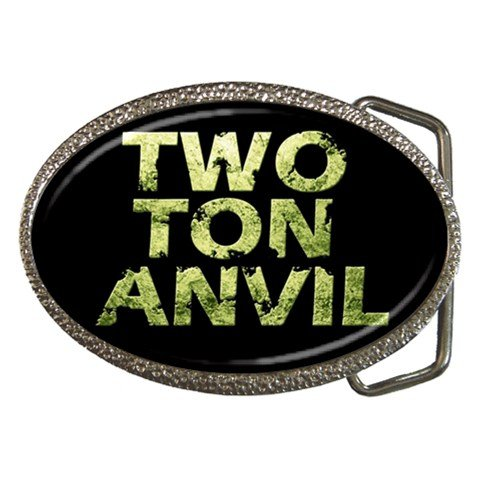 Two Ton Anvil Belt Buckle