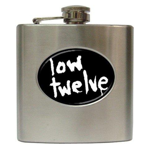 Low Twelve Hip Flask 6 oz