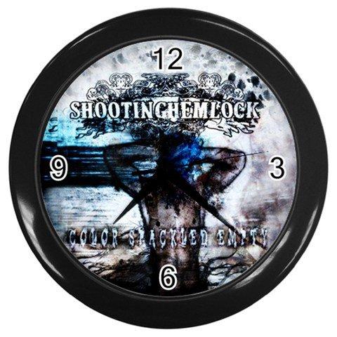 Shooting Hemlock Wall Clock 2