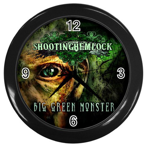 Shooting Hemlock Wall Clock 1