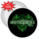 Shooting Hemlock 3in Buttons 10 Pack