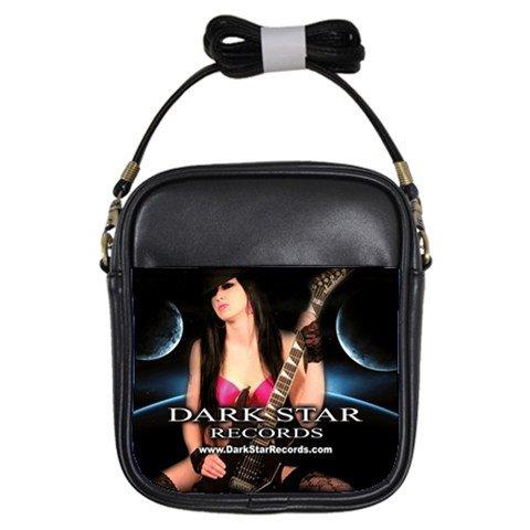 Dark Star Records Leather Sling Bag 1