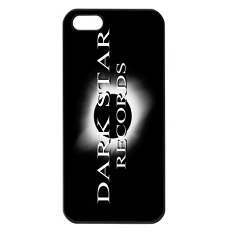 Dark Star Records iphone 5 Seamless Case Black