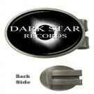 Dark Star Records Oval Money Clip