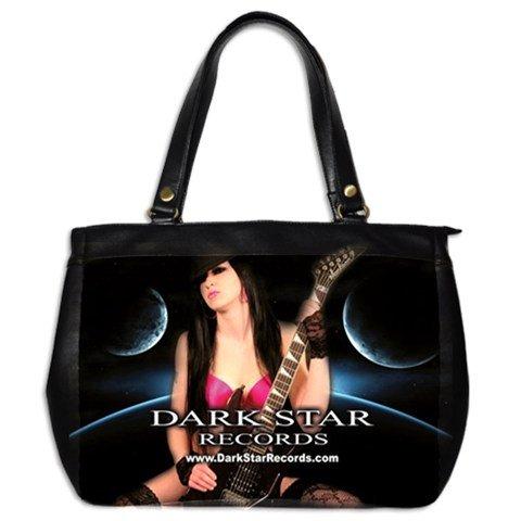 Dark Star Records Leather Handbag 1