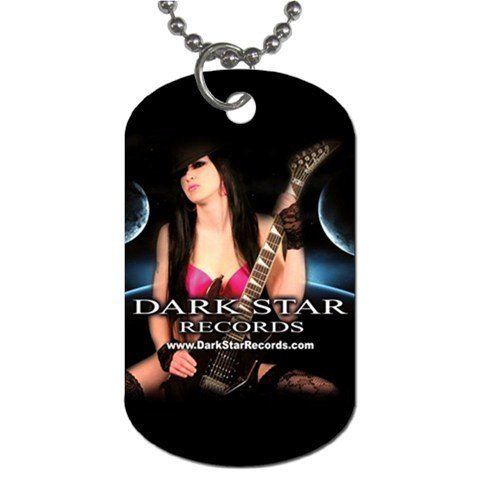 Dark Star Records 2 Sided Dog Tag and Chain 1