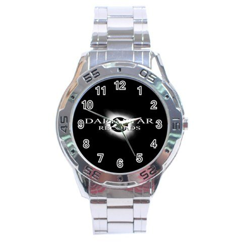 Dark Star Records Stainless Steel Analogue Men�s Watch 14