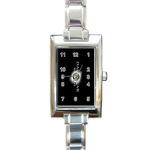 Dark Star Records Rectangular Italian Charm Watch 10