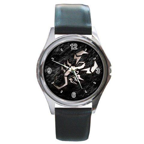 Herman Rarebell Silver Metal Watch