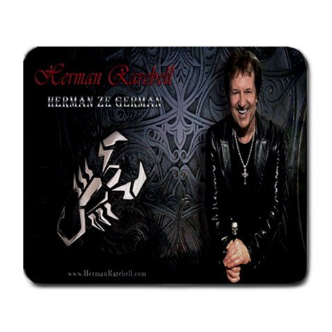 Herman Rarebell Large Mousepad 1