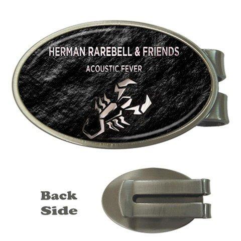 Herman Rarebell Oval Money Clip