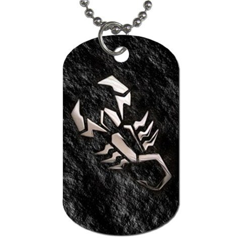 Herman Rarebell 2 Sided Dog Tag and Chain 2