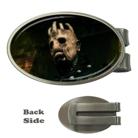 The House of Evil Oval Money Clip