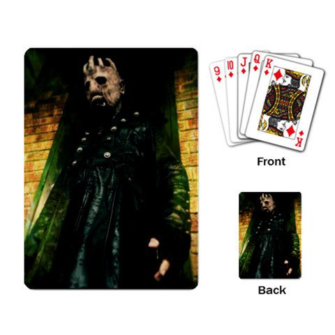 The House of Evil Playing Cards