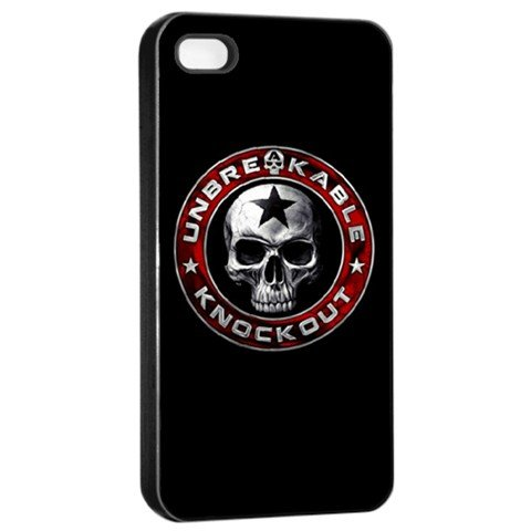 UNBREAKABLE iphone 4s Seamless Case Black