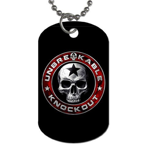 UNBREAKABLE 2 Sided Dog Tag and Chain 2