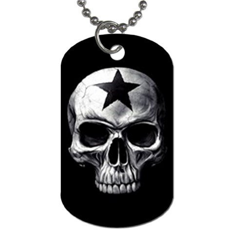 UNBREAKABLE 2 Sided Dog Tag and Chain