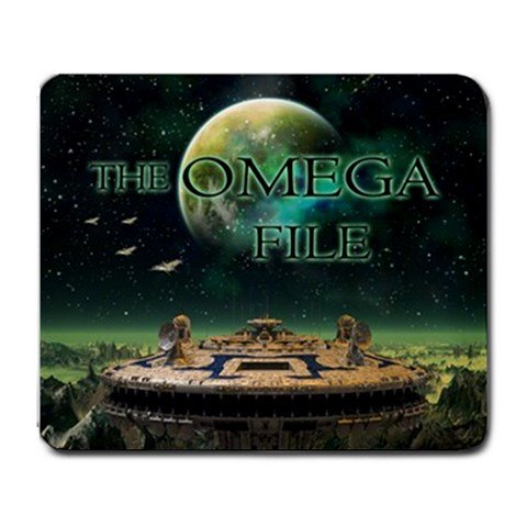 The Omega File Large Mousepad