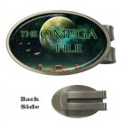 The Omega File Oval Money Clip