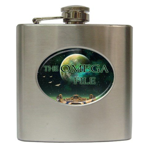 The Omega File Hip Flask 6 oz