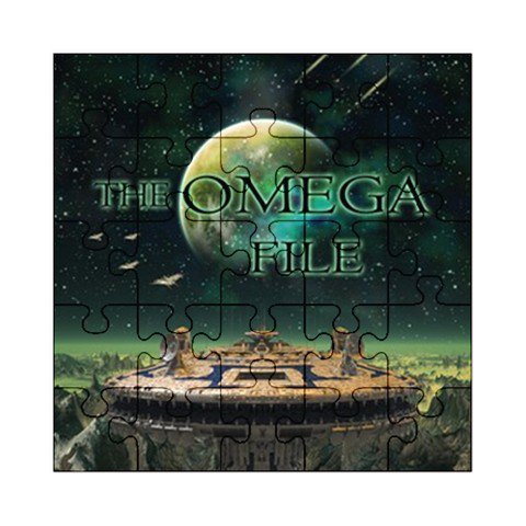The Omega File  Acrylic Jigsaw Puzzle