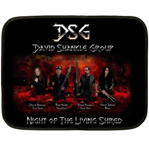 David Shankle Group Two Sided Fleece Blanket