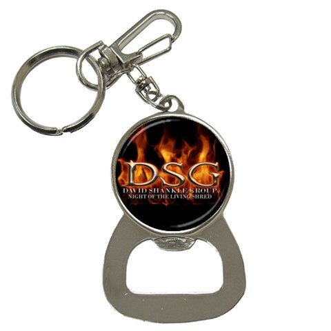 David Shankle Group Bottle Opener Key Chain