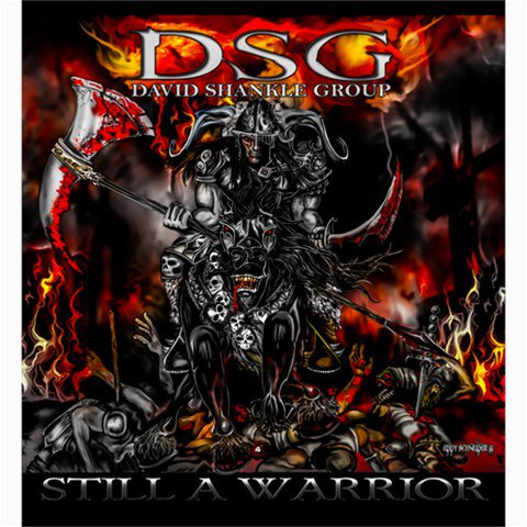 DSG Still a Warrior Shower Curtain 66 x 72
