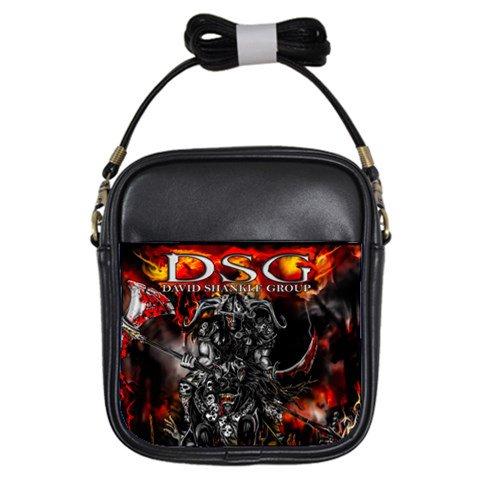 DSG Still a Warrior Leather Sling Bag