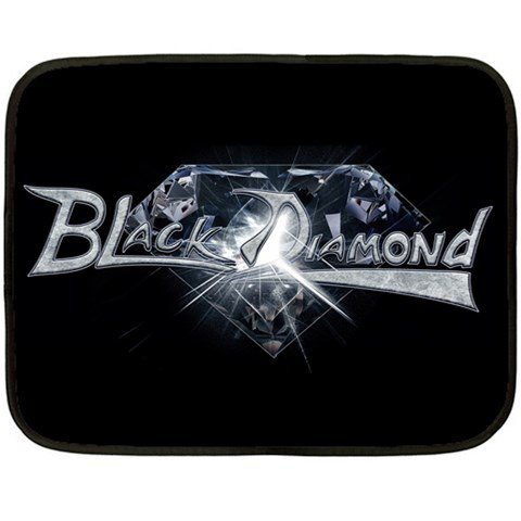 Black Diamond Two Sided Fleece Blanket