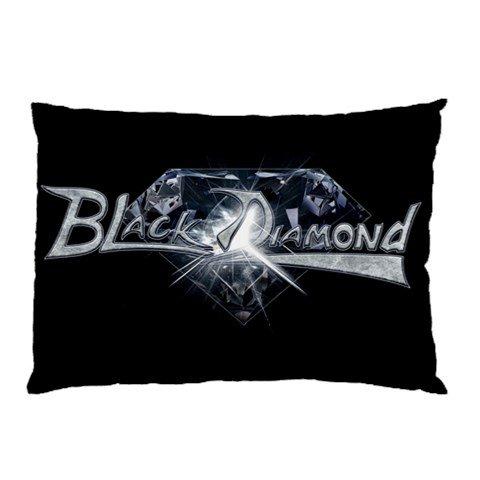 Black Diamond Two Sided Pillowcase