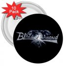 Black Diamond 3in Buttons 10 Pack