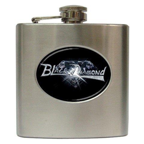 Black Diamond 6 oz Hip Flask