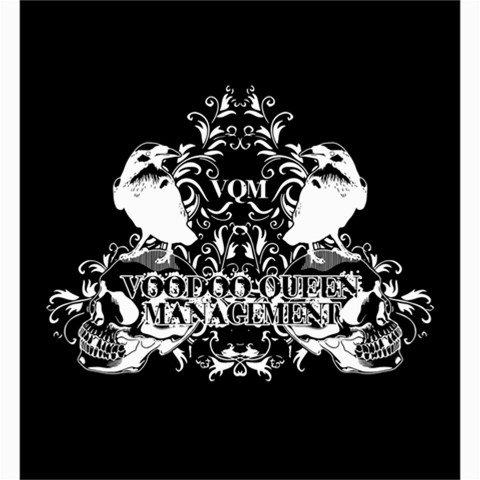 Voodoo Queen Management Shower Curtain 66 x 72
