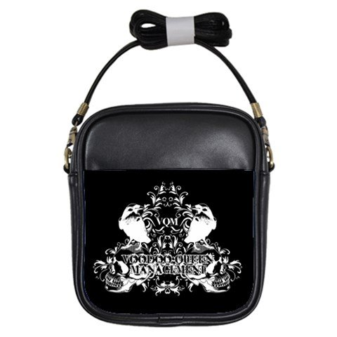 Voodoo Queen Management Leather Sling Bag
